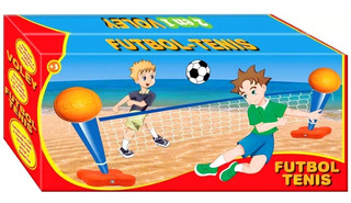 Futbol Tenis Y Voley Juegosol 2 En 1 Red De 2,5mt
