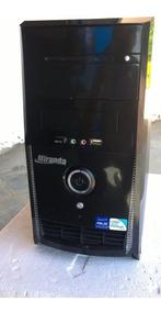 Computador Pc Cpu Core 2 Duo E7400, 4gb,ddr3,hd250gb, Dvd-rw
