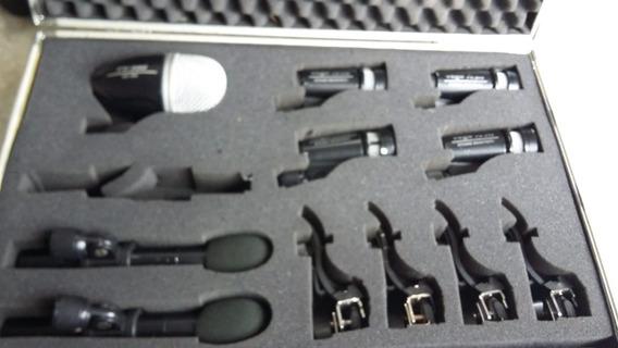 Kit Microfones Bateria Yoga Mod Fx 516