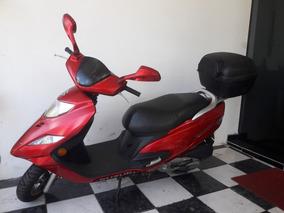 Suzuki Burgman 125i 2014 Vermelha Tebi Motos