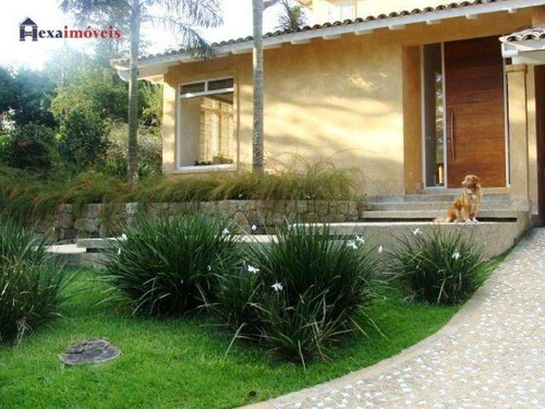 Casa Com 4 Dormitórios À Venda, 447 M² Por R$ 2.800.000,00 - Aldeia Da Serra - Barueri/sp - Ca0331