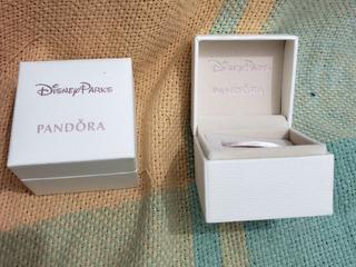 Caixa Estojo Original Vazia Pandora Pra Aliança/anel