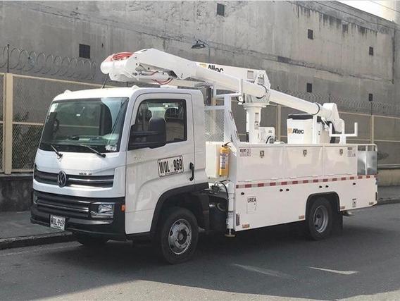 Alquiler Camión Canasta Dieléctrica
