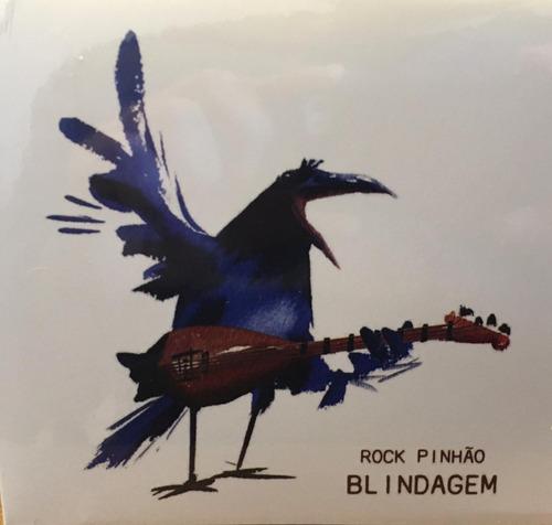Imagem 1 de 3 de Cd Banda Blindagem - Rock Pinhão - Lançamento
