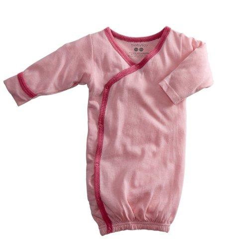Babysoy Baby Kimono Bundler Bata (3-6 Meses, Pétalo / Flo...