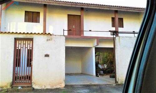 Casa A Venda No Bairro Vila Domingues Em Votorantim - Sp.  - Ca 055-1