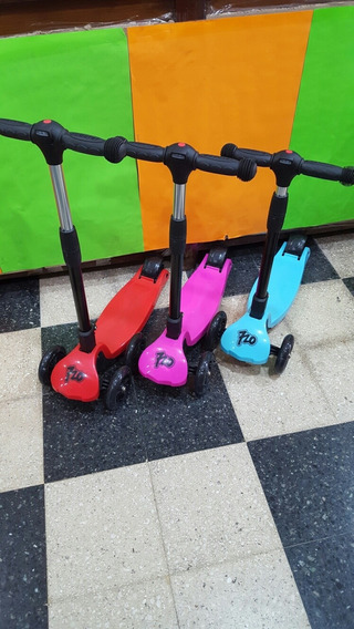 Monopatin 720 X Scooter Luz Manubrio Y Ruedas Pumy July Toys