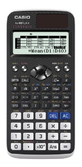 Calculadora Científica Classwiz Fx-991lax 553 Funções Preta