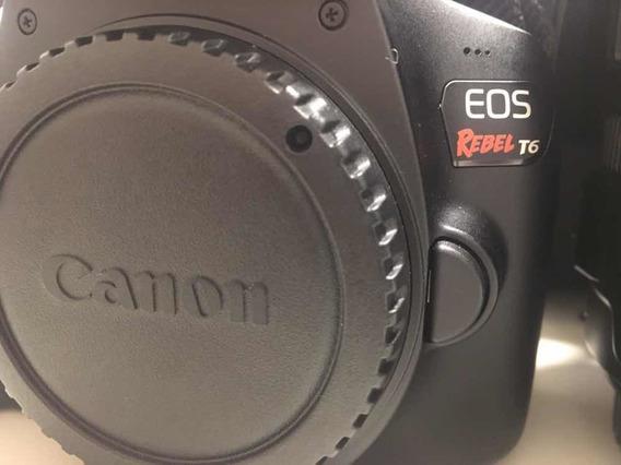 Câmera T6 Canon+lente 28-135mm