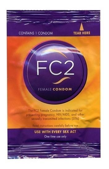 10 Condones Femeninos Fc2 Female Condom Sin Latex No Latex
