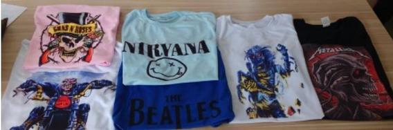 Kit 100 Camisetas Personalizadas