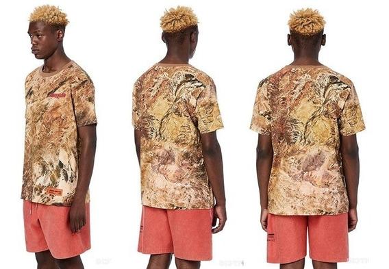 Camiseta Camuflada Heron Preston .