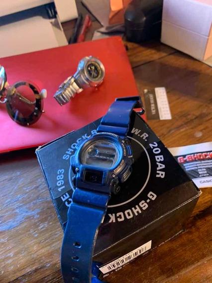 Relógio G Shock Dw9052 Marinho Usado Completo