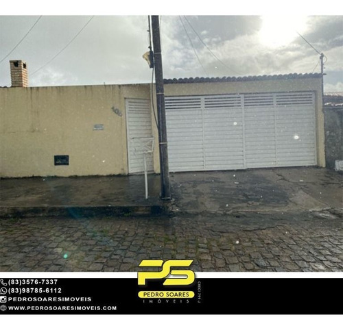 Imagem 1 de 11 de Casa Com 3 Dormitórios À Venda, 180 M² Por R$ 280.000 - Valentina De Figueiredo - João Pessoa/pb - Ca1103