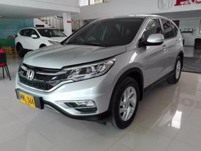 Honda Cr-v Ex Modelo 2015 Plata Alabaster