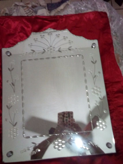 Espelho Antigo Bisotado
