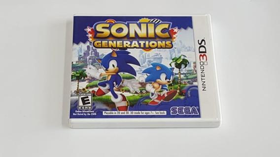 Jogo Sonic Generations - Nintendo 3ds - Original