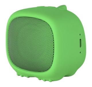 Parlante Noblex Adorable PSB02 portátil inalámbrico Verde