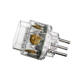 Tomada Plug In Protetor Eletrônico Anti Surto Margirius 2p+t