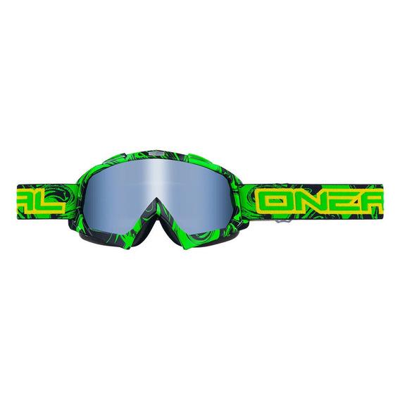 Antiparra Moto O Neal Bflex Hendrix Verde/negra