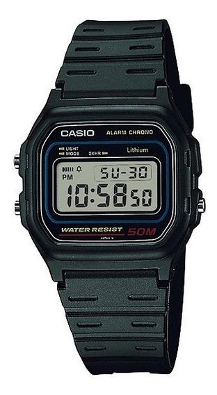 Relógio Unissex Digital Casio W-59-1vq - Preto
