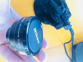Lente Nikon Tele Converter Tc-e2 2x Japan.( Produto Usado)