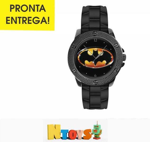 Relógio De Pulso Logo Batman Eaglemoss Dc