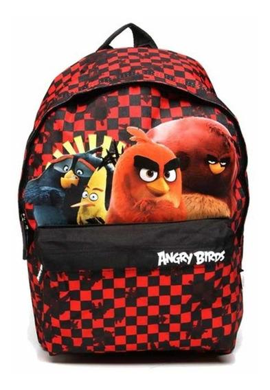 Mochila Infantil Angry Birds Abm802703 Un Santino