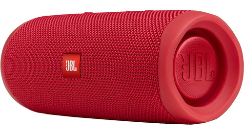 Jbl Flip 5 Waterproof Bluetooth Speaker Portátil Rojo