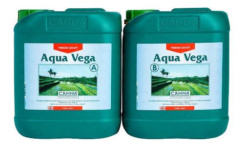 Imagen 1 de 1 de Canna Aqua Vega A+b 5l