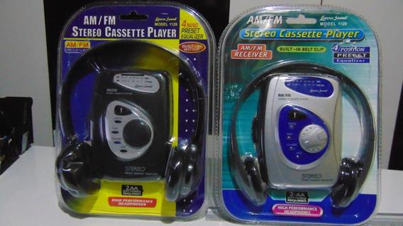 Walkman (am-fm+fita K-7) *lenoxx Sound 1129. Novo! Lacrado!