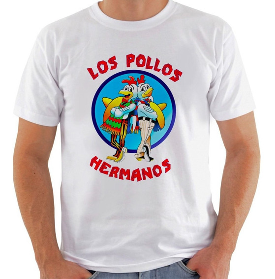 Camiseta Camisa Los Pollos Hermanos Breaking Bad Gus Nerd