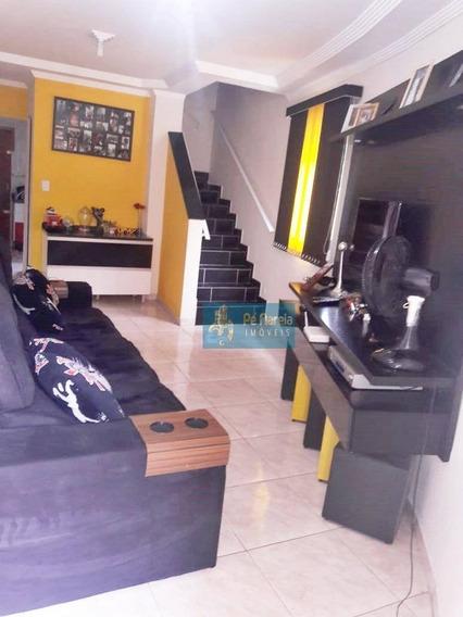 Casa Com 2 Dormitórios À Venda Por R$ 350.000 - Tude Bastos (sítio Do Campo) - Praia Grande/sp - Ca0054