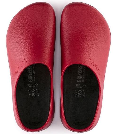 Zueco Birkenstock Rojo Modo