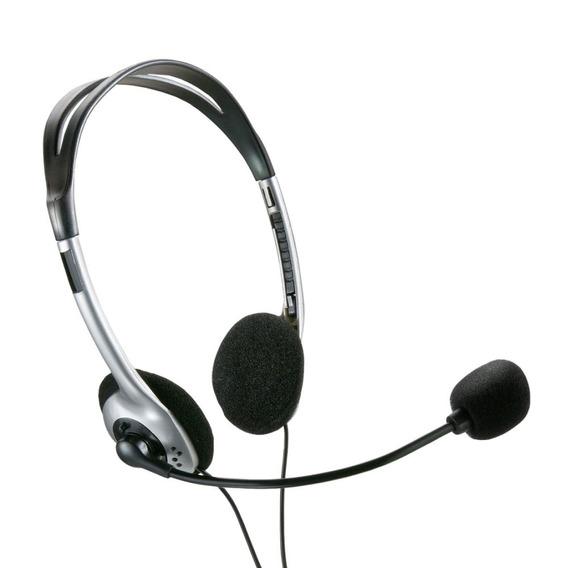Headset Com Microfone E Volume Ph002 - Multilaser