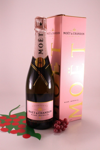 Champagne Moet Nectar Imperial Rose 750ml