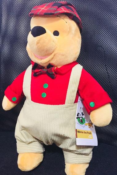 Urso Pooh Original Disney 40cm
