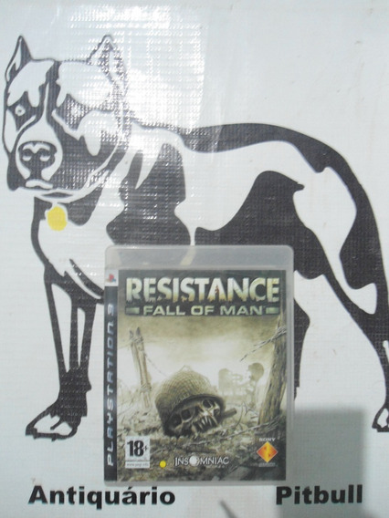 Resistence Fall Of Man Original Playstation 3