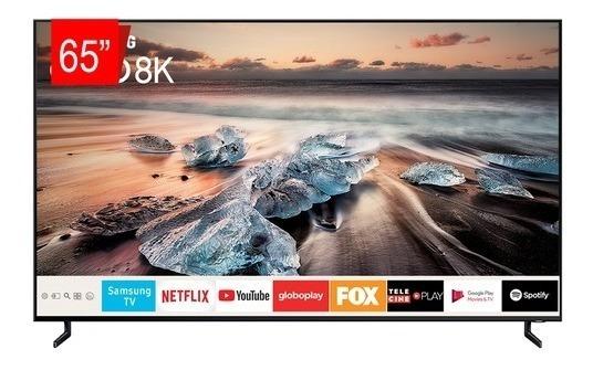 Tv Qled Samsung 65 65q900r Uhd 8k Smart, Ia Upscaling