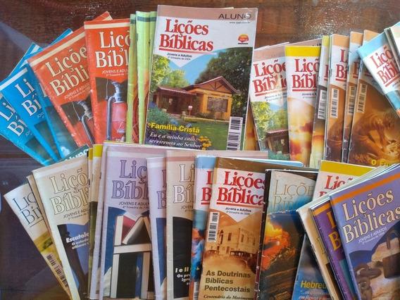 Revistas Lições Bíblicas Antigas E Raras - Cpad, Betel, Etc.