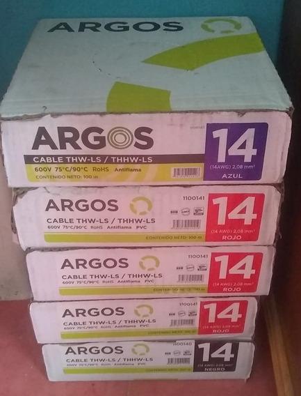 Cable Electrico Argos Calibre 14 Cobre