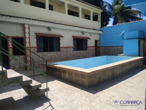 Imagem 1 de 21 de Casa Com 3 Dormitórios, 110 M² - Venda Por R$ 215.000,00 Ou Aluguel Por R$ 1.000,00/mês - Santíssimo - Rio De Janeiro/rj - Ca1943