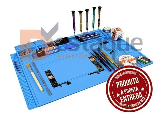Manta Magnetica Antiestatica Silicone Azul S-160 300x450