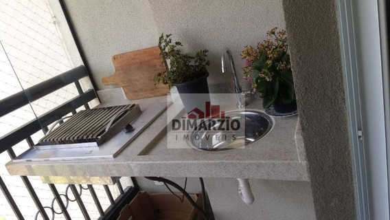 Apartamento Com 2 Dormitórios À Venda, 67 M² Por R$ 360.000,00 - Residencial Dona Margarida - Santa Bárbara D