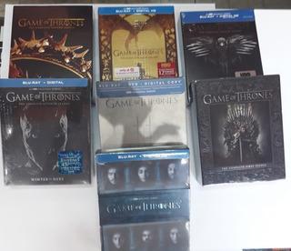 Game Of Thrones - Temp. 1 A 7 Cerradas Blu Ray