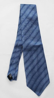 Corbata Hombre 100% Seda Van Heusen Azul