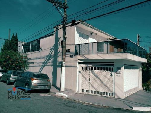 Sobrado Com 3 Dormitórios À Venda, 160 M² Por R$ 1.170.000,00 - Jardim Aeroporto - São Paulo/sp - So2671