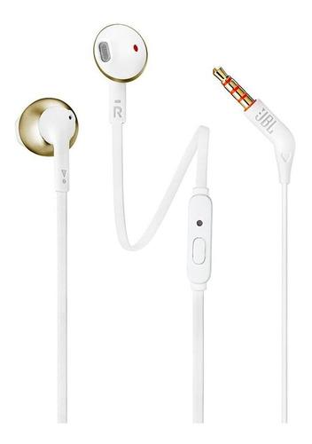 Fone De Ouvido Jbl Tune205, Bluetooth - Dourado