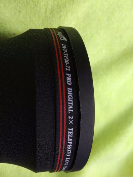 Lente Macro 2.0x 72 Impact Telephoto 72mm Made In Japan