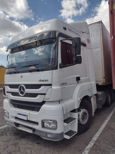 Caminhão Mb Axor 2041 6x2 - Ano 2018 - 230.000 Km